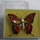 Colorful Butterfly Moth Pin - Unique Brooch