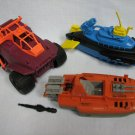 GI Joe Barracuda Devilfish Badger Vehicle Parts Lot