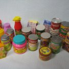 Pretend Play Canned + Boxed Food Grocery Kitchen