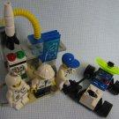 Mini Rocket Launcher 6452 + Moon Buggy 1265 + Keychain Lego Space Port