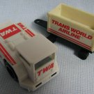 Vintage TWA AIRLINES Playset Vehicles - Remco