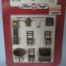 Dollhouse Miniatures Dining Room Furniture MOC