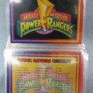 Power Rangers Series 1 Trading Cards Saban