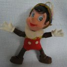 Vintage Pinocchio Rubber Christmas Ornament