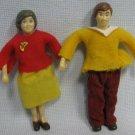 Bendy Mom & Dad Pair Figures Dolls