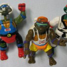 TMNT Don Leo Mike Ninja Turtles Figures