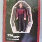 Hallmark TNG Captain Jean Luc Picard Star Trek Ornaments MIB 1995