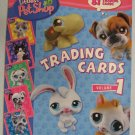 Littlest Pet Shop Trading Cards Book Vol 1 81 Cards!