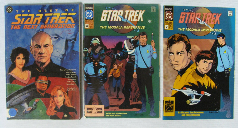 The Best of Star Trek + The Next Generation Comics Lot