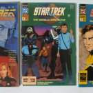 The Best of Star Trek + The Next Generation Comics Lot