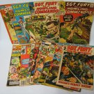 Sgt. Fury Comics Lot -Readers 1960s to 70s - Winter Annual 1964