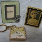 3 Miniature Photo Frames Nieman Marcus - Keychain