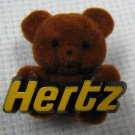 Hertz Rental Car Teddy Bear Pin