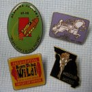Jaycees Pin Collection Born To Be Wild + Blast Off To The Future + More