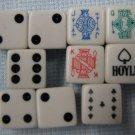 80s Hoyle Dice Vegas + Poker Style Set