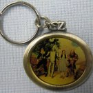 Wizard of Oz ON THE ROAD TO OZ Pewter Keychain