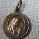 Nossa Senhora de Fatima Charm Pendant Vintage Rosary