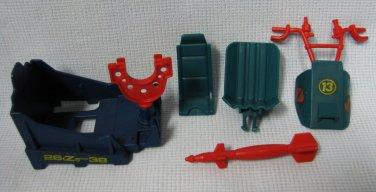 1987 GI Joe Dreadnok Tri Cycle Parts Lot