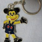 Silver Mickey Mouse Keychain