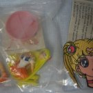 Sailor Moon Iron-On Cloth Patch + Bandai Figure