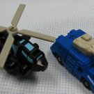 Tracer + Dropshot Transformers MiniCons Hasbro '90