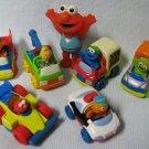 6 Jim Henson Sesame Street Tyco Cars Elmo n More