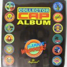1990's Pogs Lot Slammers Mortal Kombat Street Fighter + Imperial Slammer Whammers Album Milk Caps