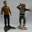 Kirk and Ferengi Star Trek PVC Figures