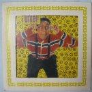Vintage URKEL Carnival Prize Glass Tile Photo