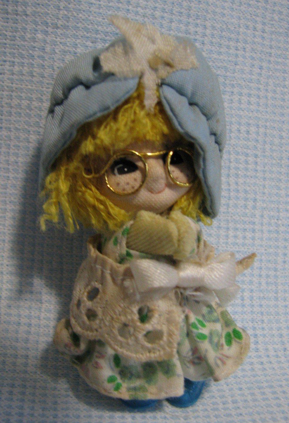 Holly Hobby Miniature Doll Clip-On BANG LIM 1982