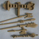 MOTU Castle Grayskull Weapons He Man