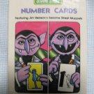 Vintage 1978 The Count Sesame Street Number Cards
