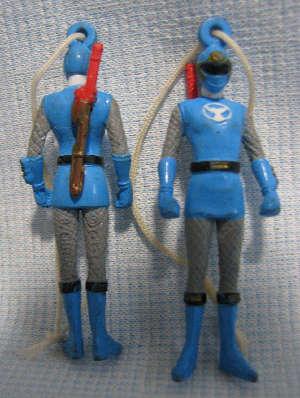 Power Rangers Ninja Storm Blue Mini Figures