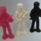 Star Patrol Figures Processed Plastic Armed Aliens