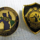 Police Union Shopo Honolulu Hawaii Lapel Button Pins