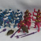 Plastic Figures PVC Ring Hand Medieval Crusaders Knights