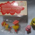 Creative Crafts Chicks Figures MIP Hong Kong