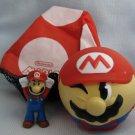Nintendo SUPER MARIO BROS Parachute McDonalds Happy Meal Toys