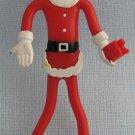 Vintage Santa Bendy Figure Toy