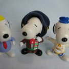 McDonalds Peanuts Snoopy Around the World Tour Figures