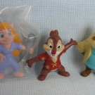 Kellogg's Rescue Ranger Figures Disney Pemiums Jack + Hackwrench