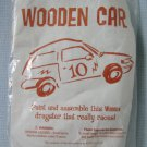 Wooden Car Kit Brighter Vision Learning 1998 MIP