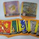 Pokemon Lenticular Flipz & Stickers Lot