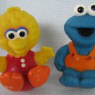Big Bird + Cookie Monster Rolly Polly Weeble Toys Sesame Street Muppets