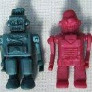 Vintage Robots Jiggly Jiggler Figure Toys Gumball Prize