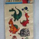 Vintage Fantasy Dragons Temporary Tattoos MIP