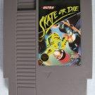 NES SKATE OR DIE Nintendo Video Games