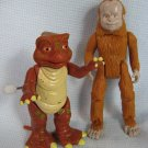Land of the Lost Dinosaur Tasha Windup + Stink Figures