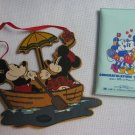Mickey Mouse Wood Ornament + Congratulations Mickey Vinyl Card Pouch