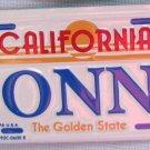 "Vintage California ""DONNA"" Mini License Plate Bike Pedal Car"